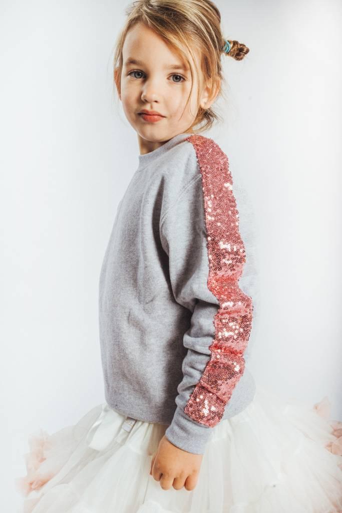 a730978b152 KIDS Sweater Light Grey Pink - Lewis   Melly