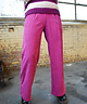 Corduroy Trousers Violet Red