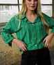 Checkered Shirt Green