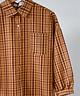 Checkered Shirt Brown