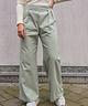 Wide Leg Trousers High Waist Mint