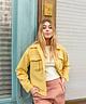 Yellow Checkered Jacket