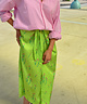 Floral Rosa Skirt Green