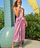 Floral Rosa Skirt Pink