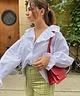 Ruffled Maiden Shirt White