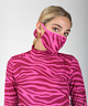 Face Mask Pink Zebra