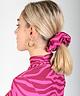Scrunchie Pink Zebra