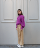 Knitted Jackie Pull Violet