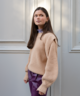 Knitted Jackie Pull Camel
