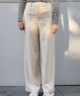 Nono Wide Leg Trousers Ecru