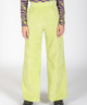 Corduroy Trousers Lime Green