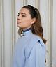 Knitted Jackie Debardeur Light Blue