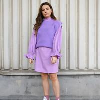 Knitted Jackie Debardeur Lilac