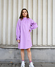 High Collar Melly Dress Lilac