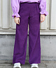 Corduroy Trousers Purple
