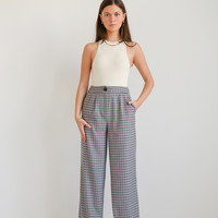 Lily Checkered Trousers Green/Purple