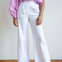 Mila Trousers White