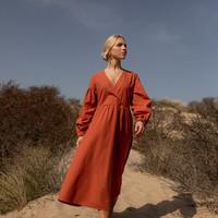 Mimi Dress Terracotta