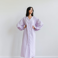 Krissy V-neck Dress Lilac