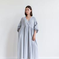 Checkered Mimi Dress Blue