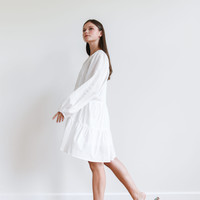Billy Dress Short White