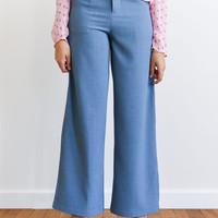 Nono Trousers Demin Blue