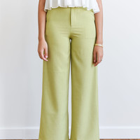 Nono Trousers Lime Green