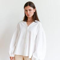 Krissy V-Neck Shirt White