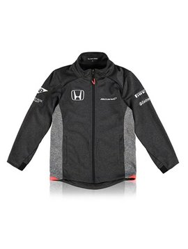 McLaren Honda Official 2017 Team Softshell Jacke - Kids