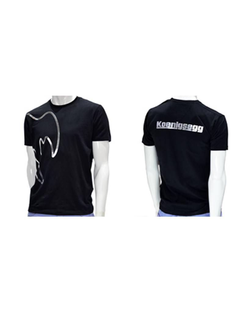 Koenigsegg Koenigsegg T-Shirt Zwart Ghost