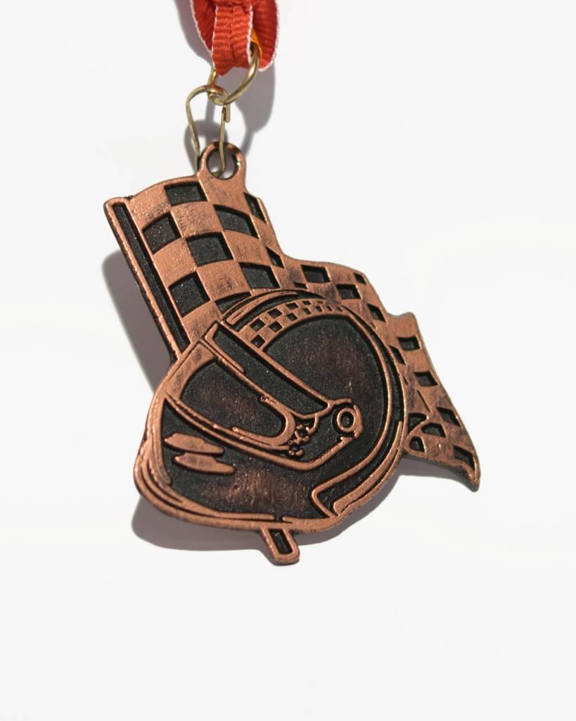 Karting Eupen Bronzemedaille