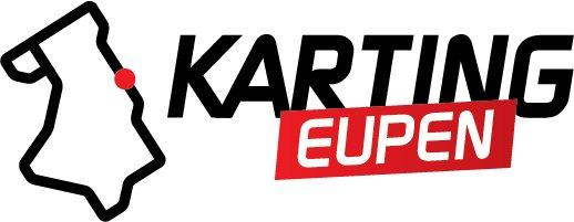 Karting Eupen Karting Eupen Sticker - Transparent/Schwarz