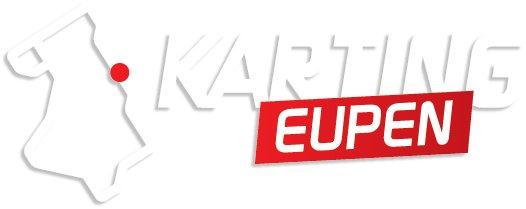 Karting Eupen Karting Eupen Sticker - Transparent/Wit