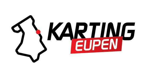 Karting Eupen Karting Eupen Sticker - Wit