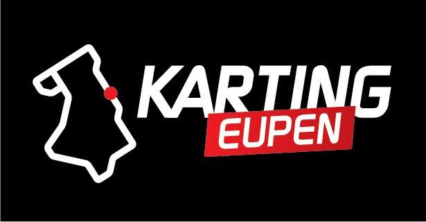 Karting Eupen Karting Eupen Sticker - Schwarz