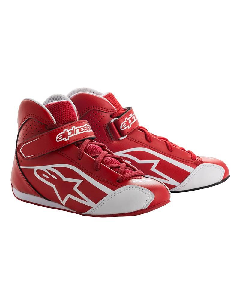 Alpinestars Tech-1 KS Shoe Junior Rouge/Blanc