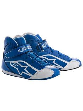 Alpinestars Tech-1 KS Shoe Junior Bleu/Blanc