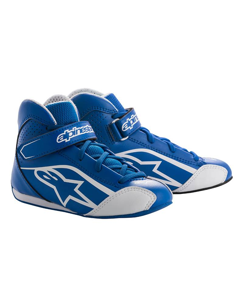 Alpinestars Tech-1 KS Shoe Junior Blau/Weiß