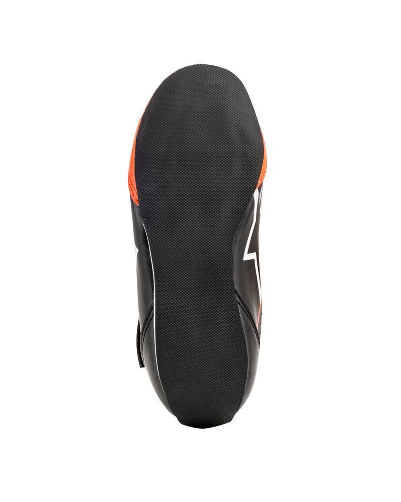 Alpinestars Tech-1 KS Shoe Junior Schwarz/Weiß/Fluo Orange