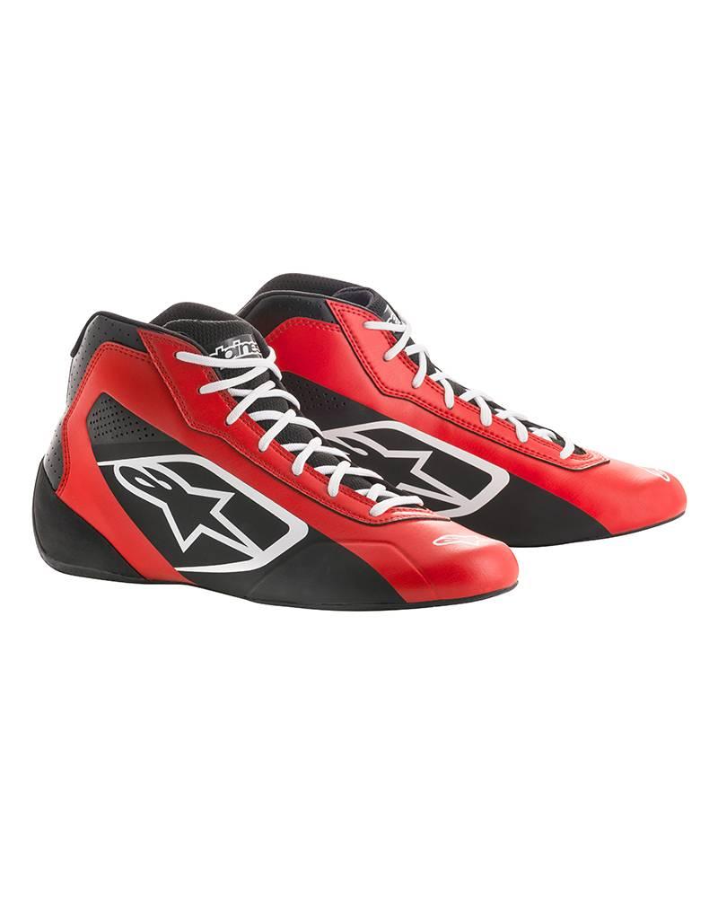 Alpinestars Tech-1 K Start Shoe Rood/Zwart/Wit