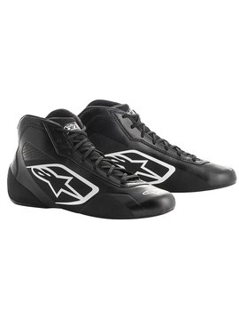 Alpinestars Tech-1 K Start Shoes Black/White