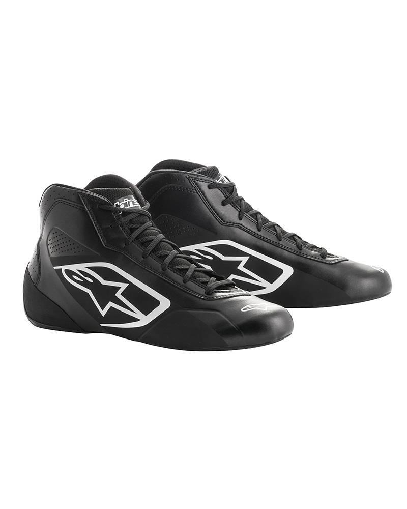Alpinestars Tech-1 K Start Chaussures Noir/Blanc