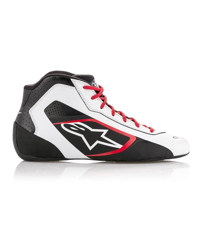 Alpinestars Tech-1 K Start Shoe Weiß/Schwarz/Rood