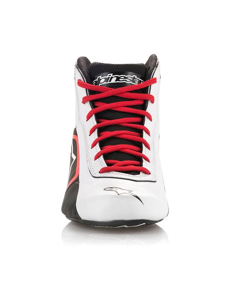 Alpinestars Tech-1 K Start Shoe White/Black/Red