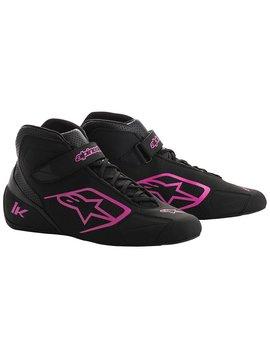Alpinestars Tech-1 K Shoes Black/Fushia