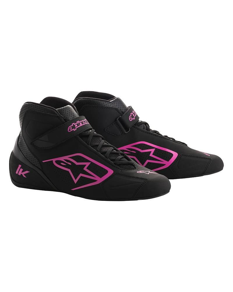 Alpinestars Tech-1 K Schuhe Schwarz/Pink