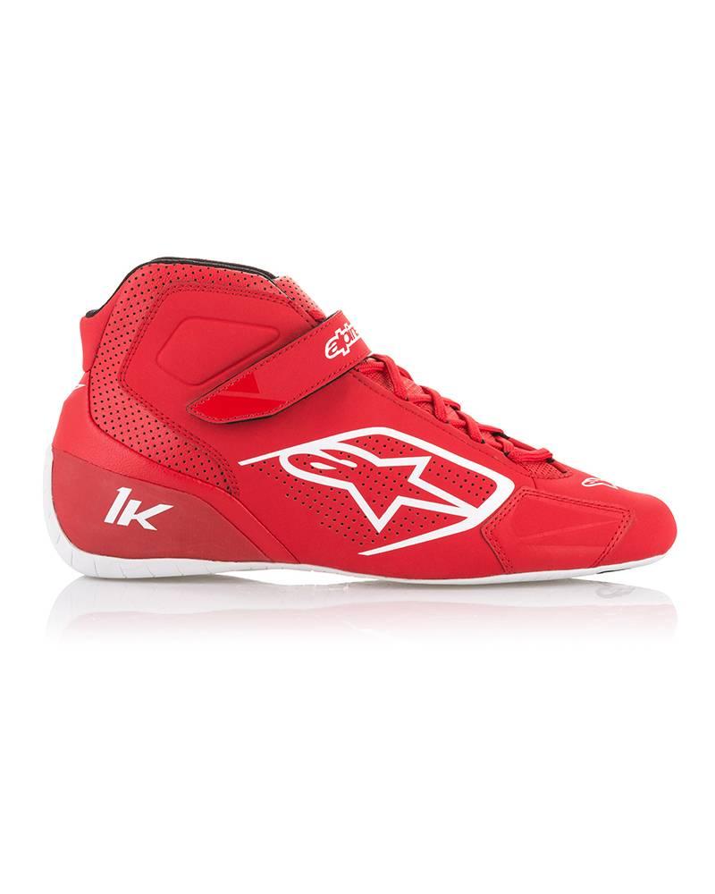 Alpinestars Tech-1 K Schuhe Rot/Weiß