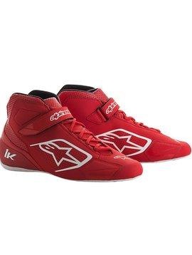 Alpinestars Tech-1 K Chaussures Rouge/Blanc