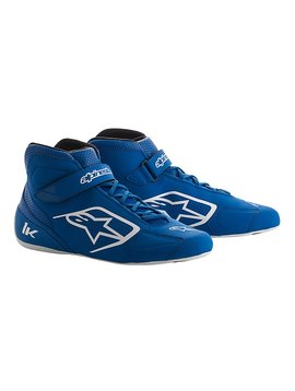 Alpinestars Tech-1 K Schoenen Blauw/Wit