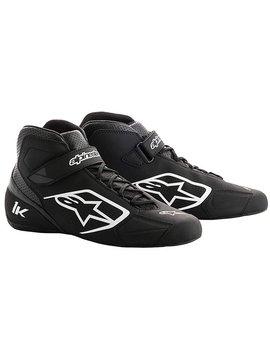 Alpinestars Tech-1 K Chaussures Noir/Blanc
